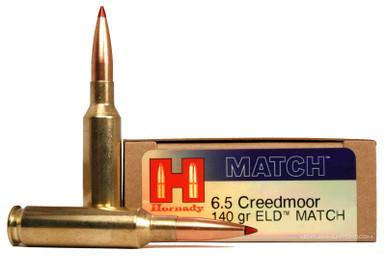Hornady 6.5 Creedmoor 140gr ELD Match Ammo - 20 Rounds