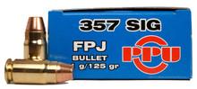 Prvi Partizan .357 SIG 125gr FPJ Ammo - 50 Rounds