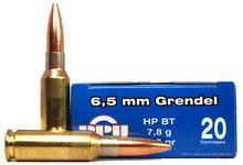 Prvi Partizan 6.5 Grendel 120gr HPBT Ammo - 20 Rounds