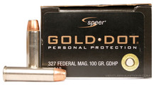 Speer Gold Dot 327 Federal 100gr JHP Ammo - 20 Rounds