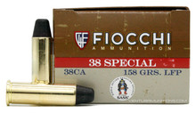 Fiocchi Shooting Dynamics 38 Special 158gr LRFP Ammo - 50 Rounds