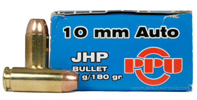 Prvi Partizan 10mm 180gr JHP Ammo - 50 Rounds