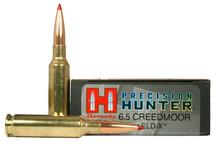 Hornady Precision Hunter 6.5 Creedmoor 143gr ELD-X Ammo - 20 Rounds