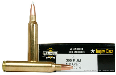 Armscor USA Trophy Class 300 RUM 180gr Accubond Ammo - 20 Rounds