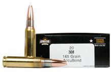 Armscor Premier 308 Winchester 165gr Accubond Ammo - 20 Rounds