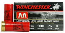 "Winchester AA WinLite 12ga 2 3/4"" #8 7/8oz Lead Ammo - 25 Rounds"