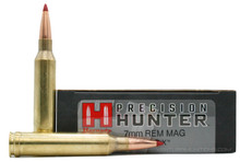 Hornady Precision Hunter 7mm Remington Magnum 162gr EDL-X Ammo - 20 Rounds