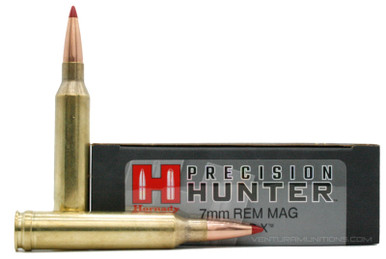 Hornady Precision Hunter 7mm Remington Magnum 162gr ELD-X Ammo - 20 Rounds