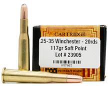 Ventura Heritage .25-35 Winchester 117gr SP Ammo