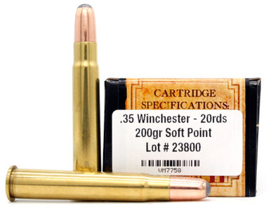 Ventura Heritage 35 Winchester 200gr SP Ammo - 20 Rounds