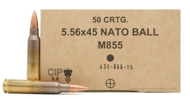 GGG 5.56x45mm NATO 62gr SS109 M855 Ammo