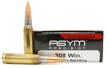 ASYM Precision 308 Winchester 175gr OTM (SMK) - 20 Rounds