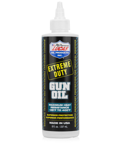 Lucas Extreme Duty Gun Oil 8oz