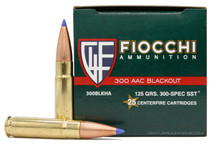 Fiocchi 300 AAC Blackout 125gr SST Ammo - 25 Rounds