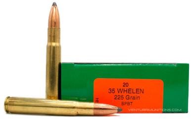 HSM 35 Whelen 225gr SPBT Game King Ammo - 20 Rounds