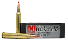 Hornady Precision Hunter 300 Win Mag 200gr ELD-X Ammo - 20 Rounds