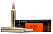 HSM 300 RUM 180gr Grand Slam Ammo - 20 Rounds
