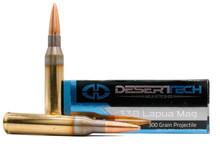 Desert Tech Premium Match 338 Lapua Mag 300gr OTM BT Ammo - 20 Rounds