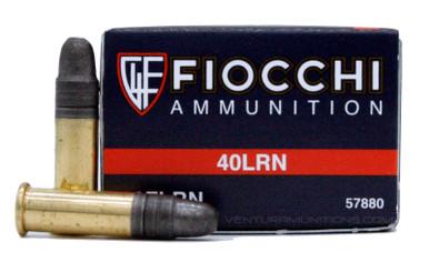 Fiocchi Performance 22 LR 40gr LRN Ammo - 50 Rounds