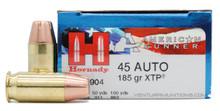 Hornady American Gunner 45 ACP 185gr XTP Ammo - 20 Rounds