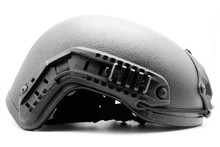High Ground Ripper Ballistic Level IIIA  Helmet with Team Wendy Padding - Black
