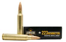 Armscor 223 Rem 62gr FMJ Ammo - 20 Rounds