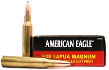 American Eagle 338 Lapua Mag 250gr JSP Ammo - 20 Rounds