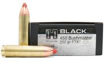Hornady BLACK 450 Bushmaster 250gr FTX Ammo - 20 Rounds