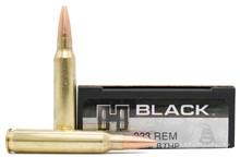 Hornady BLACK 223 Rem 75gr BTHP Match Ammo - 20 Rounds