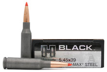Hornady BLACK 5.45x39 60gr V-Max Poly Tip Steel Cased Ammo - 20 Rounds