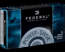 Federal Power-Shok 30-06 Springfield 150gr SP Ammo - 20 Rounds