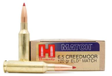Hornady Match 6.5 Creedmoor 120gr ELD Ammo - 20 Rounds