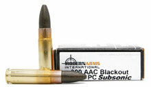 Modern Arms 300 AAC Blackout 220gr Polymer Coated Subsonic Ammo - 20 Rounds