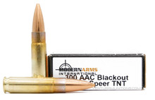 Modern Arms 300 AAC Blackout 125gr Speer TNT HP Ammo - 20 Rounds