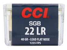 CCI Small Game SGB 22LR 40gr LFN Ammo - 50 Rounds
