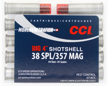 CCI Shotshell 38 Special/357 Magnum 84gr #4 Shot Ammo - 10 Rounds