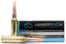 Desert Tech Premium Match 6.5 Creedmoor 140gr OTM Ammo - 20 Rounds