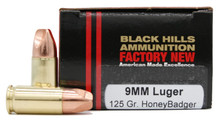 Honey Badger 9mm Black Hills Ammo