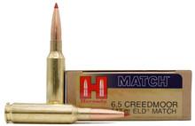 Hornady Match 6.5 Creedmoor 147gr ELD BT Ammo - 20 Rounds