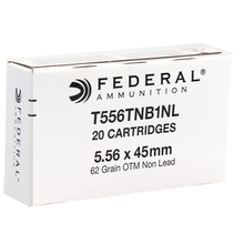 Federal 5.56x45mm MK318 MOD 1 SOST 62 Grain Barrier Blind Ammo - 20 Rounds