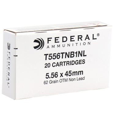 Federal 5.56x45mm MK318 MOD 1 SOST 62 Grain Barrier Blind Ammo - 20 Rounds