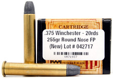 Ventura Heritage 375 Win 255gr RNFP Ammo - 20 Rounds