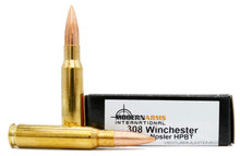 Modern Arms 308 Win 168gr Nosler Match HPBT Ammo - 20 Rounds