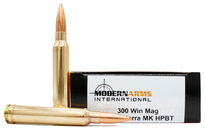 Modern Arms 300 Win Mag 220gr SMK HPBT Ammo - 20 Rounds