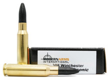 Modern Arms 308 Win 220gr Lead Poly-Coated Subsonic Ammo - 20 Rounds