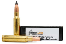 Modern Arms 308 Win 187gr Poly-Tipped Subsonic Ammo - 20 Rounds