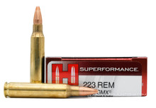 Hornady Superformance 223 Rem 55gr GMX Match Ammo - 20 Rounds