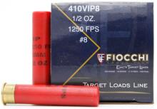 "Fiocchi Exacta 410ga 2.5"" .5oz #8 Shotshell Ammo - 25 Rounds"