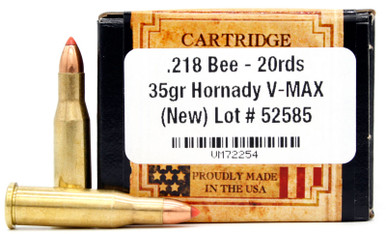 Ventura Heritage 218 Bee 35gr V-Max Ammo - 20 Rounds