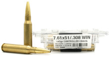 Ventura Tactical Lehigh Supreme 308 Win 145gr Controlled Chaos Processed Ammo - 20 Rounds
